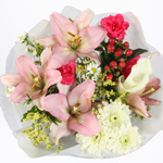 Discount Centerpieces Pink Flowers