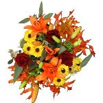 Changing Leaves Flower Centerpiece