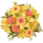 Kiss of Sunshine Wedding Centerpieces
