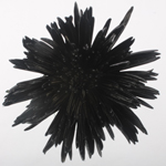 Gothic Black Airbrushed Spider Mum