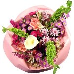 Mother's Day Pink Party Centerpieces