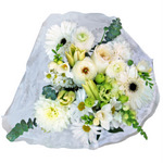 White Classic Table Centerpieces