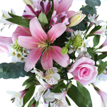 Pink Sky Wedding Centerpieces